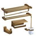 Antique Copper Bathroom Hardware Accessories Set