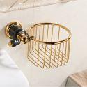 European Copper Toilet Roll Holder Modern Bathroom Paper Holder BJL5511