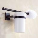 European Black Toilet Brush Holder WDLY003