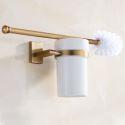 European Gold Toilet Brush Holder SLLK003