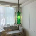 Vintage Creative Coloured Pendant Light Handmade Glass Pendant Light Restaurant Bar ZC 7004