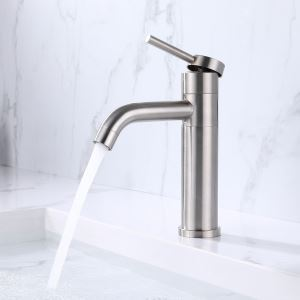 Rotatable Stainless Steel Sink Faucet (Short)