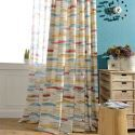 Abstract Colorful Curtain Kids Room Living Room (One Panel)