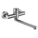 Rotatable Stainless Steel Kitchen Faucet Brushed Tap
