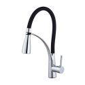 LED Black Kitchen Sink Faucet Mixer Tap