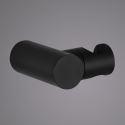 Solid Brass Handheld Shower Holder Black Round Hand Shower Holder