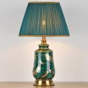 Modern Glazed Ceramic Table Lamp Minimalist Counter Lamp Reading Lamp Living Room Study Room HY-063