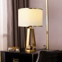 Contemporary Simple Gold Table Lamp Desk Decor Lamp Bedroom Living Room HY232