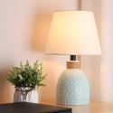Minimalist Macaron Ceramic Table Lamp Contemporary Reading Lamp Study Room Living Room HY-011