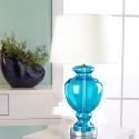 Simple Glass Table Lamp Desk Bedside Lamp Bedroom Living Room HY255