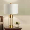 Minimalist Gold Table Lamp Entry Luxe Desk Reading Lamp Bedroom Living Room HY230