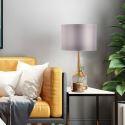 Modern Simple Table Lamp Marble+Iron Desk Bedside Lamp Bedroom Living Room HY203