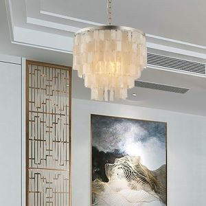Modern Simple Shell Pendant Light Creative Decorative Pendant Lamp Living Room Bedroom QM-1901-1 QM-1900-5