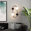 Modern LED Wall Lamp Magic Bean Sconce Lighting Bedroom Living Room QM-6802