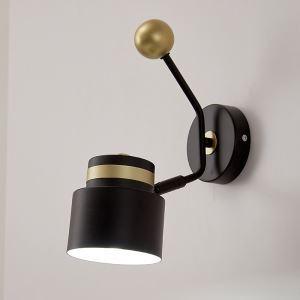 Minimalist Style LED Wall Lamp Iron Single Light Sconce Bedroom Hallway QM-6802