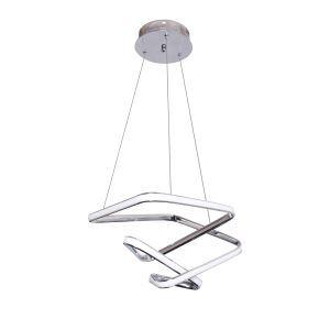 Modern Minimalist LED Pendant Lamp Unique Twist Light Fixture Living Room Kitchen Island LB941040