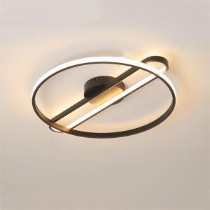 Modern LED Round Flush Mount Acrylic Ceiling Light Bedroom Living Room TB200401