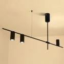 Nordic Simple Pendant Light Electroplating Iron Pendant Light Living Room Study Light