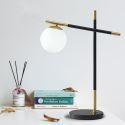 Modern Simple LED Table Lamp Magic Beans Reading Lamp Desk Lamp Study Room Bedroom QM6202