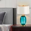 Modern Colored Glaze Table Lamp Bubble Desk Decor Lamp Bedroom Living Room HY252