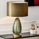 Modern Colored Glaze Table Lamp Bubble Desk Decor Lamp Bedroom Living Room HY253