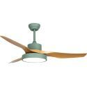 3 Blades Ceiling Fan with LED Light Remote Control QM1122