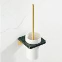 Contemporary Marble Toilet Brush Holder YSQS004