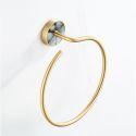 European Style Brass Towel Ring QSMJH01