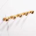 European Brass Row Coat Hook Clothes Hat Rack QSYG003