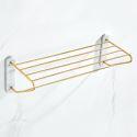 European Style Brass Towel Rack Bathroom Shelf Rack YSJJ008