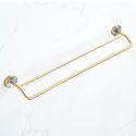 European Style Brass Towel Bar Seashell Towel Rail QSFG02