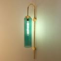 Contemporary Glass Wall Lamp Single Light Sconce Lamp Living Room Hallway