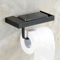 ORB Toilet Roll Holder with Phone Shelf European Antique Bathroom Accessories Copper