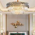 Round Glass Pendant Light Nordic Style Glass Chandelier Bedroom Living Room 2825