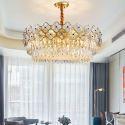 Circular Plum Blossom Glass Pendant Light Modern Glass Ceiling Light Bedroom Living Room 2236