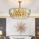 Modern Circular Glass Pendant Light Decorative Chandelier Bedroom Living Room 2806