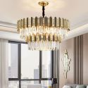 Modern Round Glass Pendant Light Stable Stainless Steel Ceiling Lamp Living Room Bedroom 2203