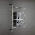 Swivel Towel Warmer 80W Swing Arm Wall Mount Circular Tube  Drying Rack