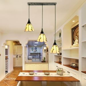 Cluster Glass Pendant Lamp Stained Glass Decorative Lighting Living Room Kitchen Island Idea DD4031