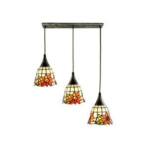 Sunflower Stained Glass Cluster Pendant Light Living Room Kitchen Island Idea DD4034