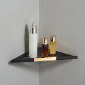 Solid Brass Triangular Bath Shelf Wall Mounted Corner Shelf 171