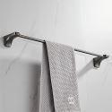 Stainless Steel Modern Towel Bar Gun Grey Towel Rail 7600