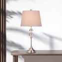 American Glass Globe Table Lamp Study Bedroom Desk Reading Lamp A176
