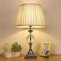 American Style Glass Table Lamp Bedroom Study Desk Lamp A50
