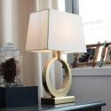 Modern Simple Iron Table Lamp Living Room Bedroom Decorative Light Fixture A219