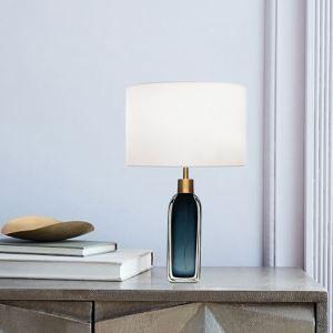 Unique Colored Glaze Table Lamp Bottle Shape Desk Lamp Bedroom Study A207