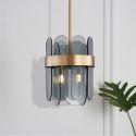 Modern LED Glass Pendant Light Bedroom Living Room Lighting