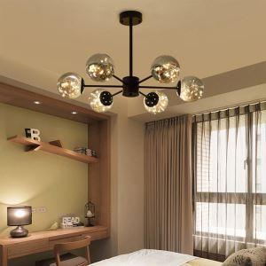 Magic Bean LED Pendant Light Nordic Style Glass Ball Gypsophila Pendant Light Living Room Bedroom 1935