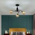 Minimalist Glass Ceiling Light Bedroom Living Room Light Fixture 1936
