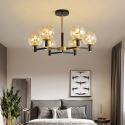 Modern Chandelier Creative Glass Globe Pendant Light Living Room Bedroom 1942